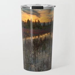 Autumn Dolly Sods Sunset Travel Mug