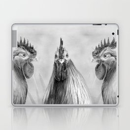 Gulp! In Mono Laptop & iPad Skin