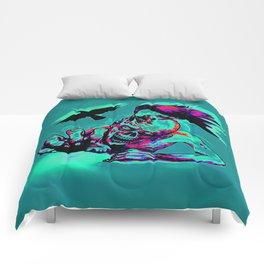 Zombie Crawl Comforters