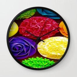 Vivid Dance Party Wall Clock