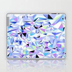 Periwinkle Polygons Laptop & iPad Skin