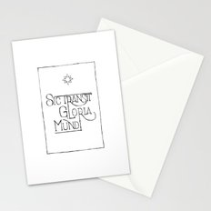 Sic Transit Gloria Mundi Stationery Cards