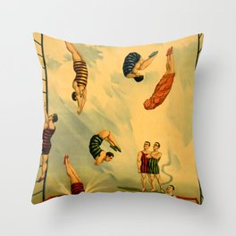 Snows Consolidated Throw Pillow