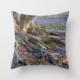 The Fingers Throw Pillow