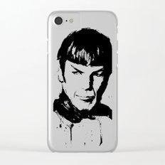 Spock Star Trek Clear iPhone Case