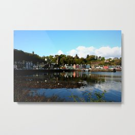 Tobermory, in the afternoon sun Metal Print