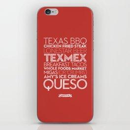 Austin — Delicious City Prints iPhone Skin