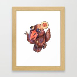 Condor Orange Framed Art Print