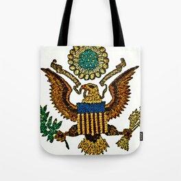 Patriotic Eagle Tote Bag