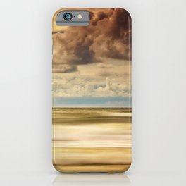 Stormy North Sea iPhone Case
