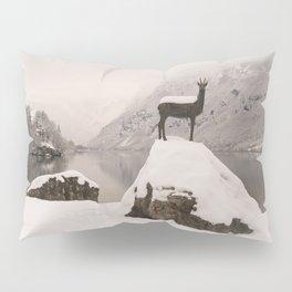 The Stag At Lake Bohinj Pillow Sham
