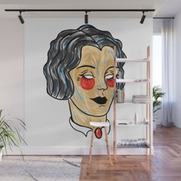 Gypsy Girl Wall Mural