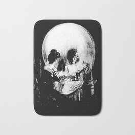 All Is Vanity: Halloween Life, Death, and Existence Bath Mat