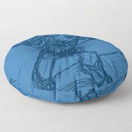 Mr. Freeze Floor Pillow