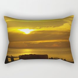 End of day Rectangular Pillow