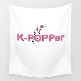 K-Popper Wall Tapestry