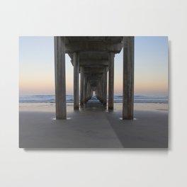 Scripps Pier at Sunrise (Digital) Metal Print