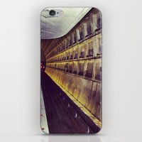 subway iPhone & iPod Skins featuring Subway by wendygray
