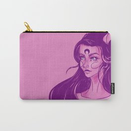 Pink Devil Carry-All Pouch