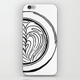 Cappuccino Lover iPhone Skin