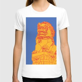 Zhong Hua Men Gate Lion T-shirt