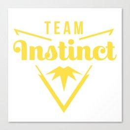 Team Instinct alt. emblem Canvas Print