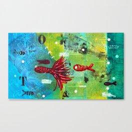 I VI Canvas Print