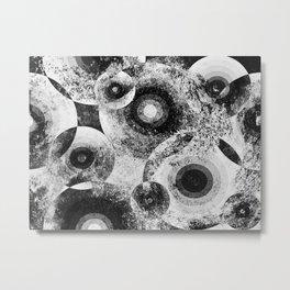 Moon Spots Metal Print