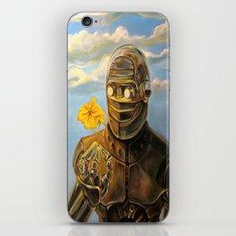 Robot & Flower iPhone Skin