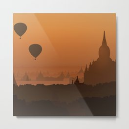 Plain Of Temples Metal Print