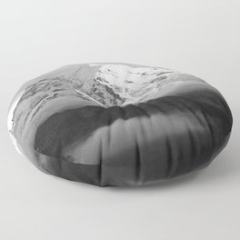 Marvelous Mount Rainier Floor Pillow