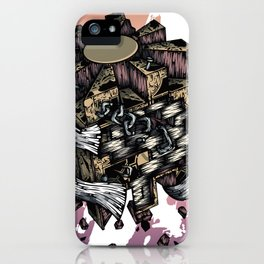 The Six Faces Of Curiosity iPhone Case