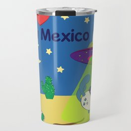 Ernest and Coraline | I love New Mexico Travel Mug