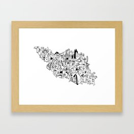 IRAN Framed Art Print