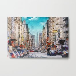 Buenos Aires colors Metal Print