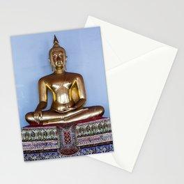 Buddha, Wat Pho, Bangkok, Thailand Stationery Cards