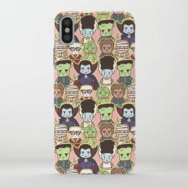 Kawaii Little Monsters Series 1 Pattern Print iPhone Case