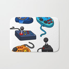 Video Game  Controls Bath Mat