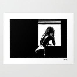 Watcher | Part 1 Art Print