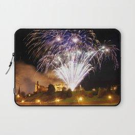 Castle Illuminations Inverness Scotland Laptop Sleeve