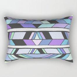 Chevron Drawing Pattern Rectangular Pillow