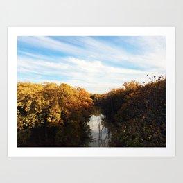 Wilderness Skyline Art Print