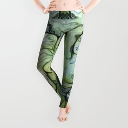 """""""Woman Resting to the Sea"""" Leggings"""