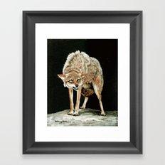 Attitude painting Framed Art Print