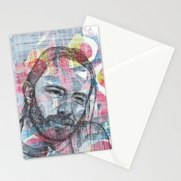 Thom Yorke - We Suck Young Blood Stationery Cards