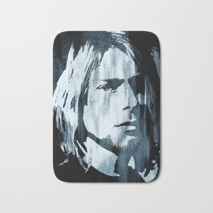 Kurt# Cobain#Nirvana Bath Mat