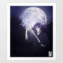 The Refuge - Kain Against the Moon Art Print