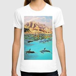 view of Kauai, HI T-shirt