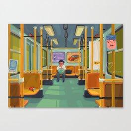 The last metro Canvas Print