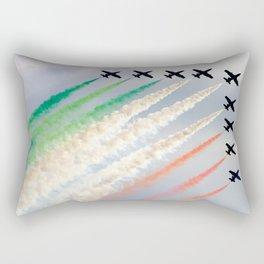 Frecce Tricolori Rectangular Pillow